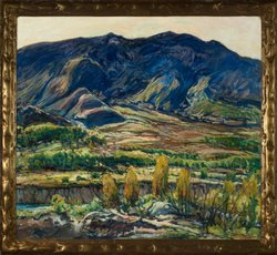 Image of artwork done by Charles Reiffel. Courtesy of the San Diego Museum of Art.