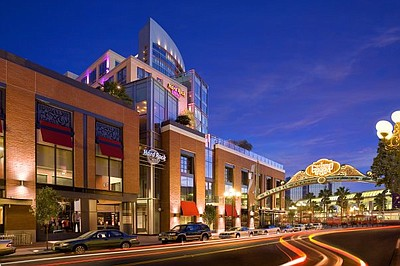 Exterior image of the Hard Rock Hotel San Diego.