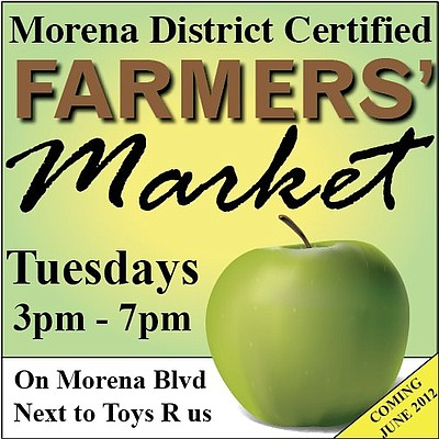Promotional graphic for the Morena District Certified Far...
