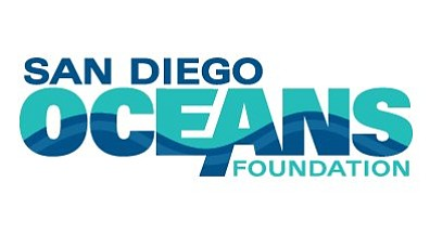 Graphic logo for the San Diego Oceans Foundation who will be hosting the 28th Annual Oceans Benefit Sustainable Seafood Gala at Sea World on March 7th, 2013.