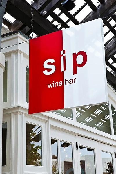 Exterior sign for Sip on Flavor Del Mar. Courtesy of Sip on Flavor Del Mar.