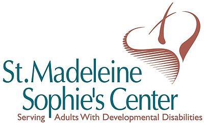 Graphic logo for St. Madeleine Sophie's Center. Courtesy ...