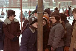 "Promotional image from the movie ""A Christmas Story"" playing at The Pearl Hotel on December 26th."