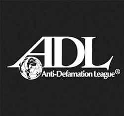 Graphic logo for Anti-Defamation League.