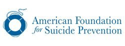 Logo for the American Foundation for Suicide Prevention (AFSP).