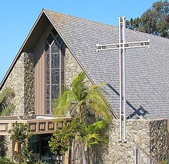Exterior image of All Hallows Church located in La Jolla.