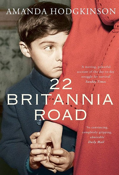 "Book cover of Amanda Hodgkinson's ""22 Britannia Road""."