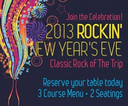 Promotional graphic of New Year's Eve At Anthology with The Trip.