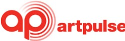 Promotional logo for Art Pulse.