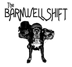 Promotional graphic for the Barnwell Shift Band.