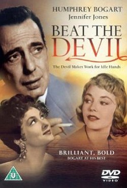 Movie poster for Beat the Devil (1953).