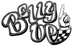 Graphical logo of Belly Up Tavern.