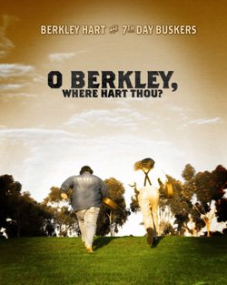 """Promotional graphic for """"O Berkley, Where Hart Thou?"""" at the Poway Center for Performing Arts"""