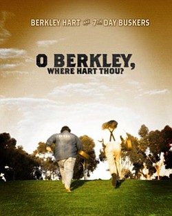 "Promotional graphic for ""O Berkley, Where Hart Thou?"" at the Poway Center for Performing Arts"