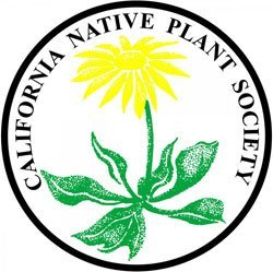 Graphic logo for California Native Plant Society