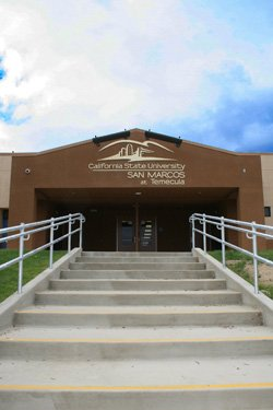 Exterior image of the Cal State San Marcos at Temecula.