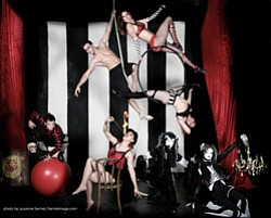 Promotional image of Cirque Berzerk performing at San Die...