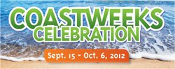 """Promotional graphic for """"Coastweeks"""" taking place at the Living Coast Discovery Center from September 15th to October 6th. Courtesy of Living Coast Discovery Center."""