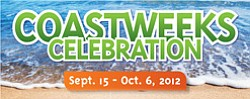 "Promotional graphic for ""Coastweeks"" taking place at the Living Coast Discovery Center from September 15th to October 6th. Courtesy of Living Coast Discovery Center."
