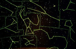 "Image of star constellations that's held every first Wednesday of the month at 7PM and 8:15PM ""The Sky Tonight"" Planetarium Show explores Spring Constellations."