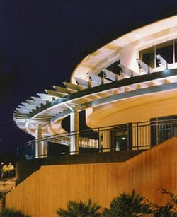 Exterior image of the Cooper Music Center at Point Loma Nazarene University.