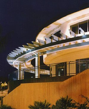 Exterior image of the Cooper Music Center at Point Loma N...