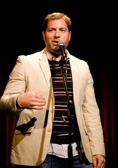 Image of comedian, Jay Larson.