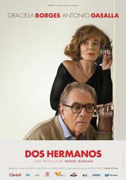 "Movie poster for ""Dos Hermanos."""