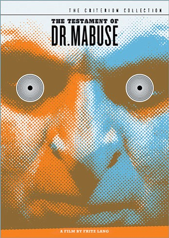 "Promotional graphic for the film, ""The Testament of Dr. Mabuse"" that will be screening at the San Diego Central Library on August 17th."