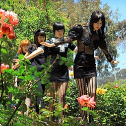 Image of the Dum Dum Girls.