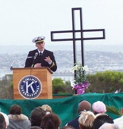 Image of 2011 Easter Sunrise Service at Cabrillo National Monument.