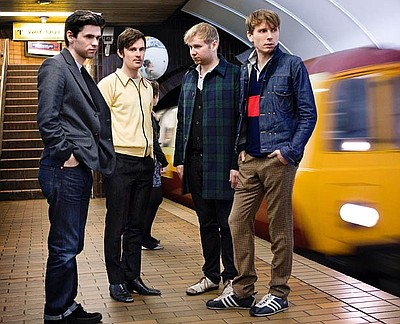 Photo of musicians Franz Ferdinand