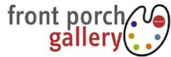 Graphic logo for Front Porch Gallery, located at Front Porch Gallery, 2903 Carlsbad Blvd., Carlsbad, CA 92008.