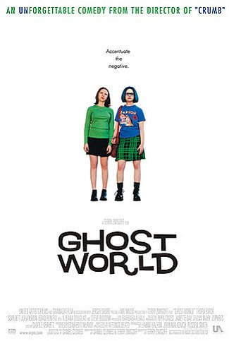 """Promotional graphic for the film """"Ghost World,"""" distribut..."""