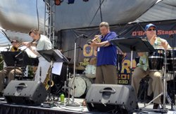Promotional image of Gickey & the Monsters at the San Diego County Fair.
