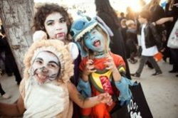 Young guests in costume at Halloween On Elm. Photo courtesy of City of Carlsbad