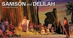 """Promotional graphic for """"Samson and Delilah"""" performing at the San Diego Civic Theatre on February 16, 19, 22 and 24, 2013. Courtesy of the San Diego Civic Theatre."""