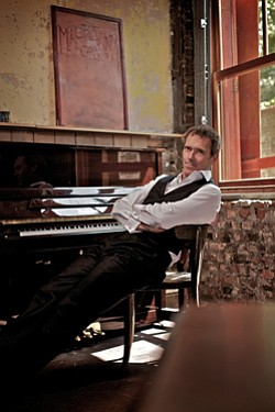 Image of blues artist, Hugh Laurie.