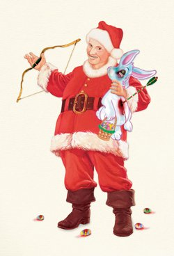 "Promotional graphic for ""A John Waters Christmas"" at the Belly Up on December 4th, 2012. Courtesy to the Belly Up Tavern."