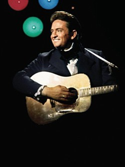 Image of Johnny Cash.