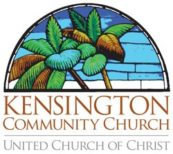 Graphic logo for Kensington Community Church.