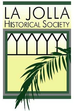 Graphic logo for the La Jolla Historical Society