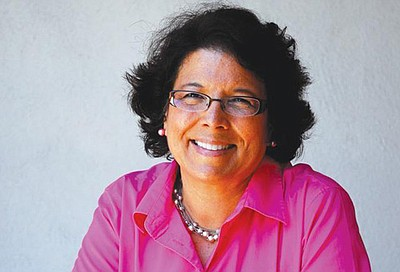 Promotional photo of Lori Saldaña. Courtesy of Lori Saldaña
