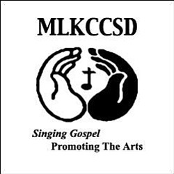 Graphical logo for MLK Choir.