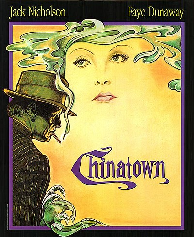"Promotional graphic for the film, ""Chinatown"" which will be screening at the Central Public Library on October 19th."