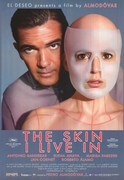 "Promotional graphic for the film, ""The Skin I Live In."""