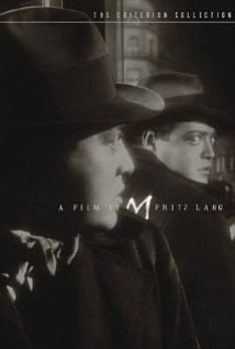 "Promotional graphic for the film, ""M (1931)"" that will be screening at the San Diego Central Library on August 10th."