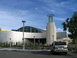 Exterior image of Mission Valley Library.