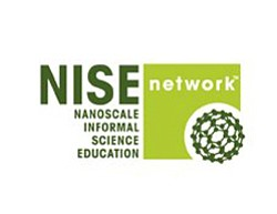 Graphical logo for Nanoscale Informal Science Education N...
