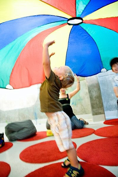 Promotional image of Fall Break Day Camp at New Children's Museum. Courtesy of New Children's Museum.